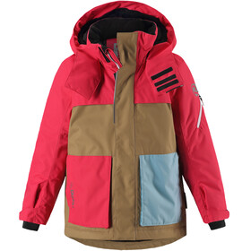 Reima Rondane Jacket Children brown/red